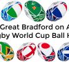 Great BoA Rugby World Cup ball hunt