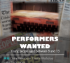 Newspaper Theatre workshop for young people