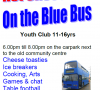 Rudloe Youth Club on the Open Blue Bus