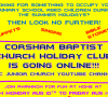 Corsham Baptist Church holiday club is going online
