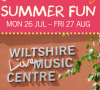 Summer fun at Wiltshire Music Centre