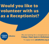 Could you help Wiltshire Citizens Advice by volunteering as their receptionist in Melksham?