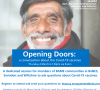Opening Doors: a conversation about Covid-19 vaccination – Thursday 4 March 2021