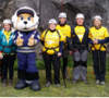 ADVENTUROUS ABSEILERS AID WILTSHIRE AIR AMBULANCE