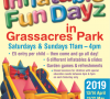 Last Inflatable Fun Dayz sessions in Grassacres Park