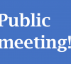 Public meeting to discuss youth issues